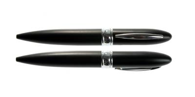 8GB USB-флэш накопитель UsbSouvenir P601 ручка металл черная матовая