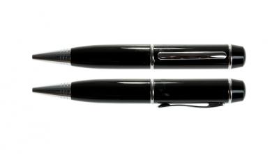 8GB USB-флэш накопитель UsbSouvenir P607 ручка металл черная