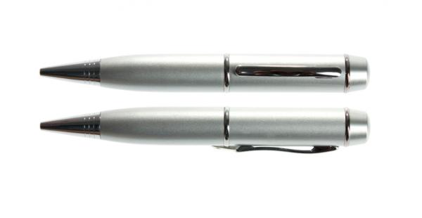 8GB USB-флэш накопитель UsbSouvenir P607 ручка металл серебро