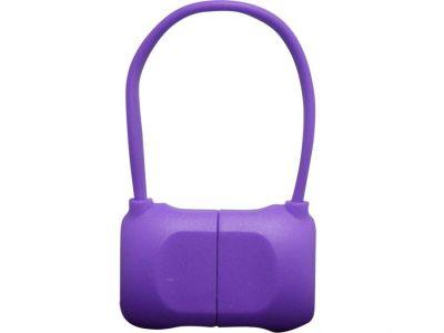 Кабель на Lightning 10см PQI BAG в форме сумочки (made for iPhone,iPad, iPod) пурпурный