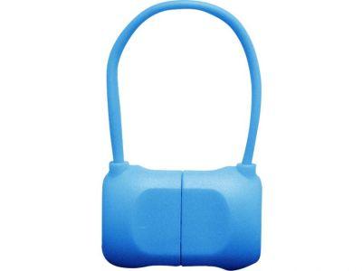 Кабель на Lightning 10см PQI BAG в форме сумочки (made for iPhone,iPad, iPod) синий