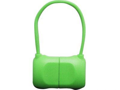 Кабель на Lightning 10см PQI BAG в форме сумочки (made for iPhone,iPad, iPod) зеленый
