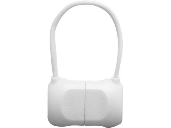 Переходник с USB на Lightning 10см PQI BAG в форме сумочки (made for iPhone,iPad, iPod) белый