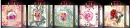 Сумки подарочные 30х30 см (10 шт.) LUX QC 3D