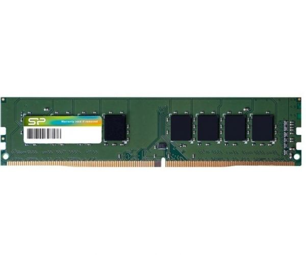 8GB Модуль памяти DDR4 PC2400 1Gx8 8Chips CL17 1.2V 288pin UDIMM  Silicon Power
