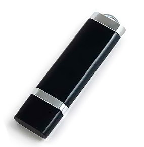 32GB USB3.0-флэш накопитель Apexto U206, Черный без светодиода