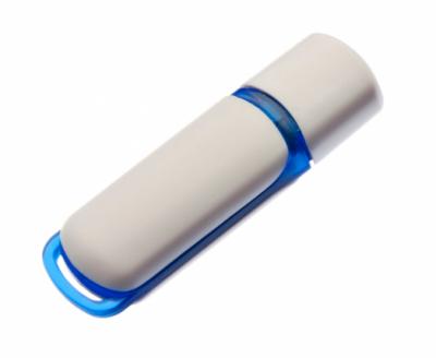 32GB USB3.0-флэш накопитель UsbSouvenir 235, белая-синяя