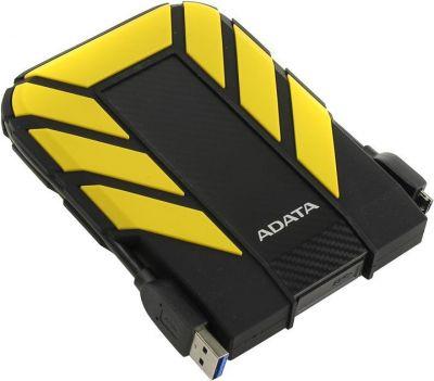 1TB внешний HD USB3.0 ADATA HD710P прорез. корпус антишок желтый