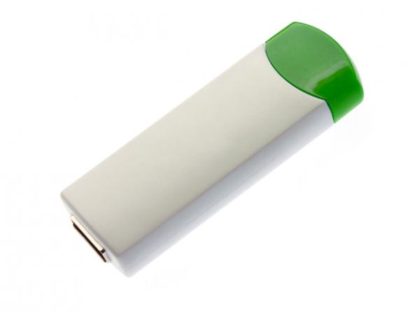 64GB USB-флэш корпус для флешки UsbSouvenir ROTATE-A, белая-зеленая