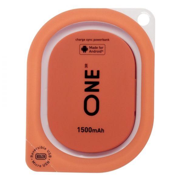 Портатитвное зарядное устройство ONE кораллового цвета для Android