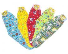 """Ползунки на широкой резине швы наружу """"Жирафик""""   Артикул: 1574W  Варианты расцветок   МАМИН МАЛЫШ"""