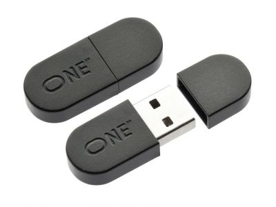 USB-флэш ONE 32GB черного цвета
