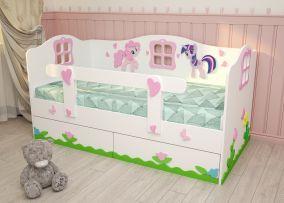 Кровать «Милые Пони»