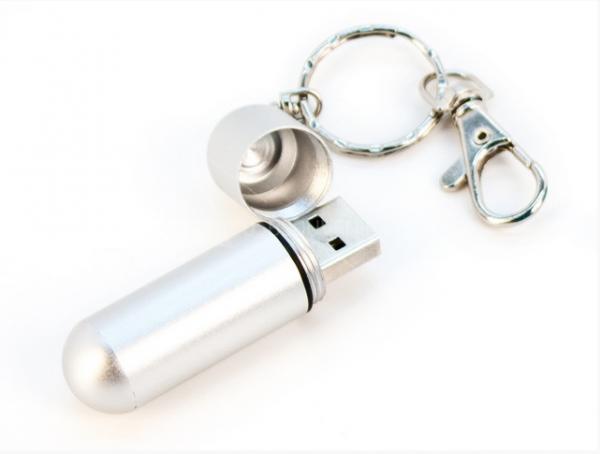 8GB USB3.0-флэш накопитель Apexto U505D, Капсула синяя
