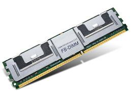 1GB модуль памяти DDR2-667 FB-DIMM 2Rank Transcend