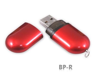 32GB USB-флэш-накопитель Supertalent BP-R красный глянец