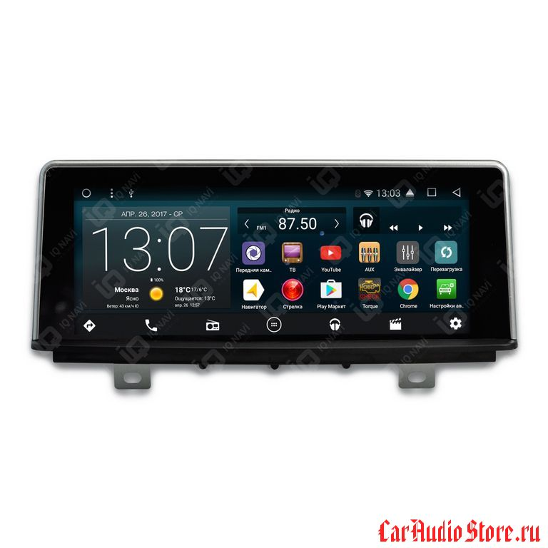 "IQ NAVI T44-1120C BMW 2 TOURER (F45 / F46) (2014+) ANDROID 6.0.1 QUAD-CORE (4 ЯДРА) 8,8"" AUX"