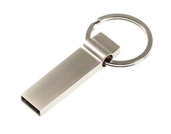 32GB USB-флеш накопитель Apexto U944A металлический брелок матовый