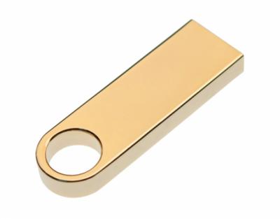 64GB USB-флеш корпус для накопитель Apexto U904A металлический брелок золотой матовый