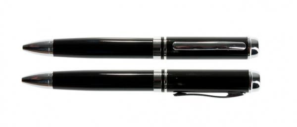 32GB USB-флэш накопитель UsbSouvenir P308 ручка металл черная