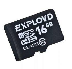 Карта памяти EXPLOYD 16 Gb  MicroSDHC Class 10