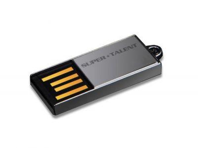 16GB USB3.0-флэш накопитель Supertalent Pico C без блистера, серебряная