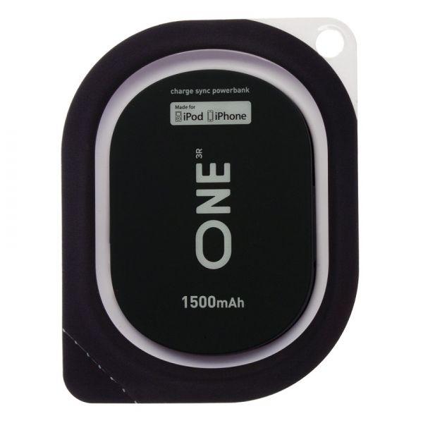 Портатитвное зарядное устройство ONE черного цвета для Apple