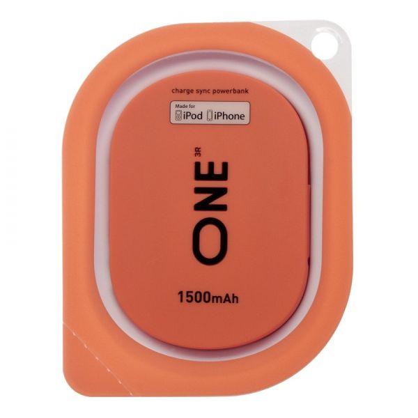 Портатитвное зарядное устройство ONE кораллового цвета для Apple
