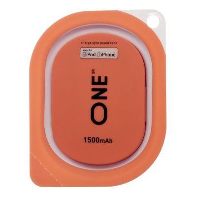 Портативное зарядное устройство ONE кораллового цвета для Apple 1500mah