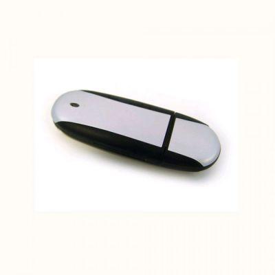 64GB USB-флэш корпус для флешки UsbSouvenir U204, Черный  серебро