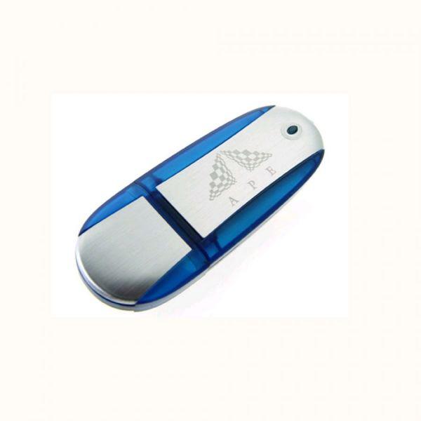64GB USB-флэш корпус для UsbSouvenir U204 синий  серебро