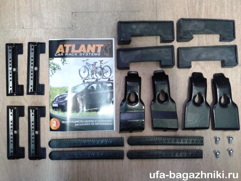 Адаптеры для багажника Opel Insignia sedan, 2009-..., Атлант, артикул 7187