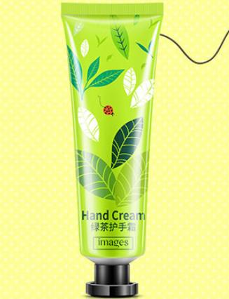Парфюмированный крем для рук Images от «BIOAQUA» с экстрактом зеленого чая.(1400)