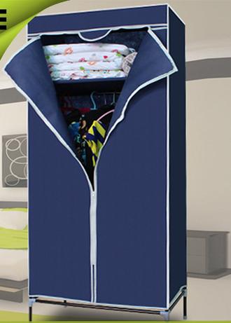 Складной каркасный тканевый шкаф Quality Wardrobe