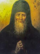 Икона Сисой, схимник Печерский (копия старинной)