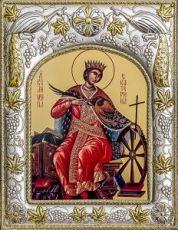 Екатерина (14х18), серебро