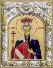Елена, царица (14х18), серебро