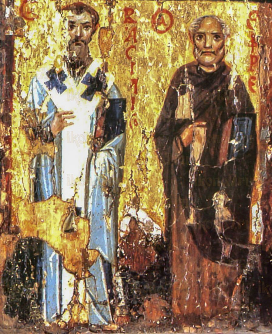 Икона Ефрем Сирин (копия 10 века)