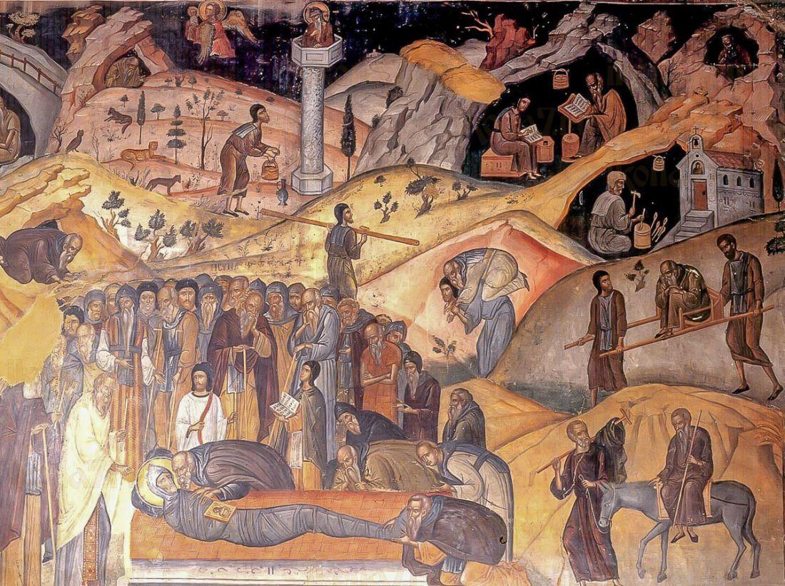 Ефрем Сирин (копия иконы 15 века)