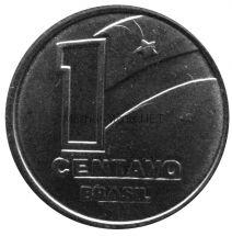 Бразилия 1 сентаво 1989 г.