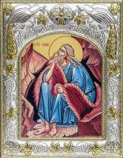 Илия Пророк (14х18), серебро