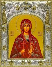Ирина Коринфская (14х18), серебро