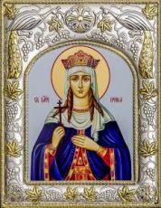 Ирина Македонская (14х18), серебро