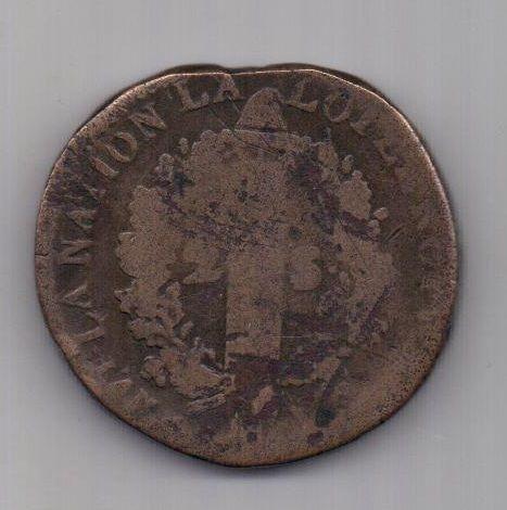 2 соля 1792 г. W. Франция