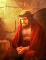 Иисус Христос в темнице (копия старинной иконы)
