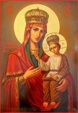 Икона Ильинско-Черниговская икона Божией Матери
