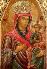 Цареградская икона Божией Матери (копия старинной)