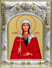 Лариса Готфская (14х18), серебро