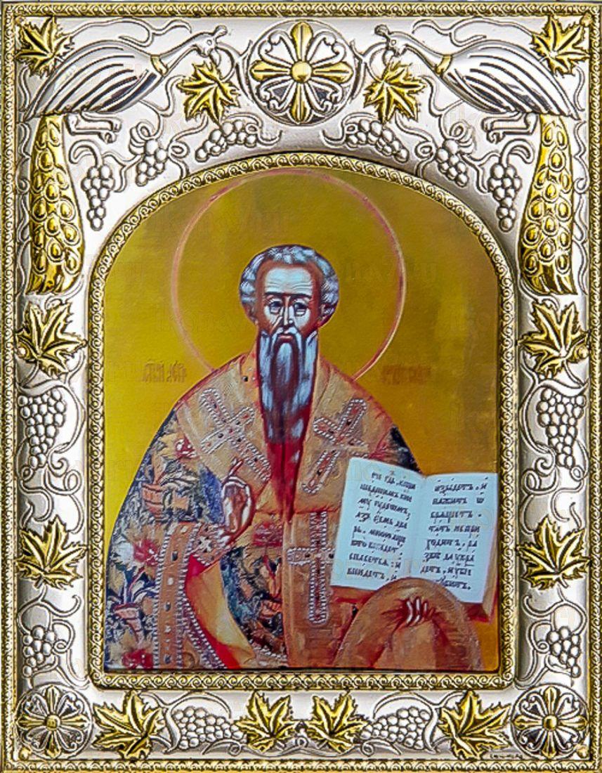 Лев Катанский (14х18), серебро