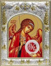 Михаил, архангел (14х18), серебро